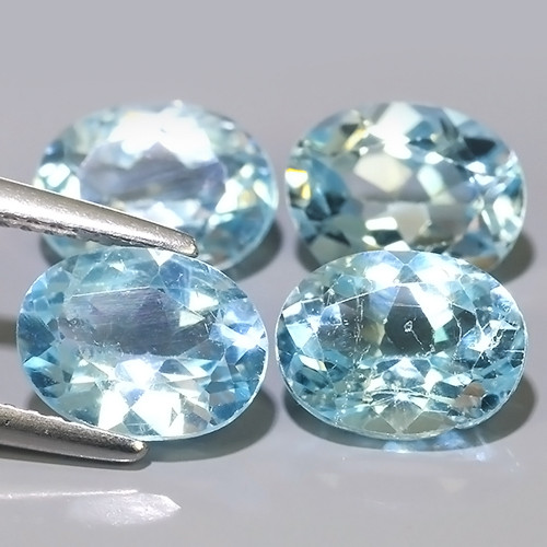 9.50 CTS AWESOME NICE QULITY SWISS BLUE NATURAL TOPAZ~