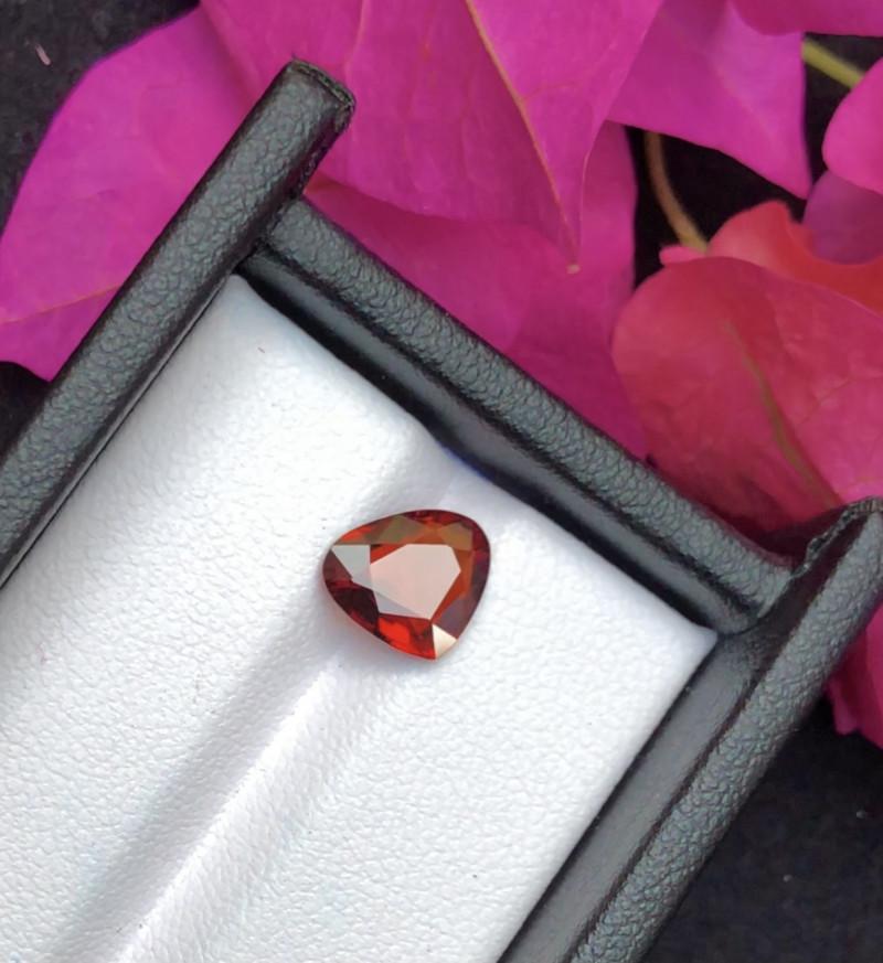 Top Grade 2.15 ct lovely Spessartite Garnet Ring Size