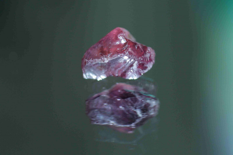 4.26cts Purplish Pink Sapphire facet grade Madagascar