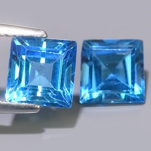 4.40  CTS WONDERFUL SWISS BLUE COLOR TOPAZ