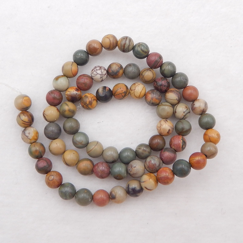jasper beads strand
