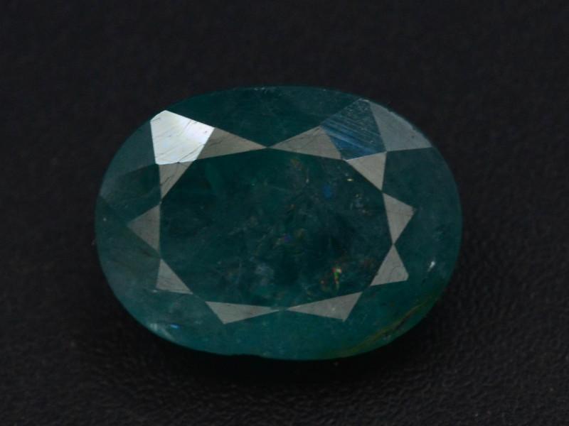 Extreamly Rarest Ct Natural Blue Grandidierite 2.20 Madagascar Mined