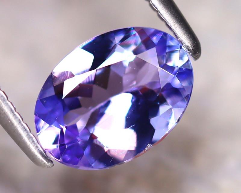 Tanzanite 1.10Ct Natural VVS Purplish Blue Tanzanite D2216/A45