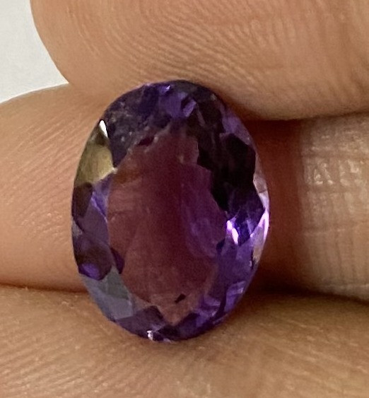 4.15 Cts Natural Amethyst faceted loose Gemstone 83