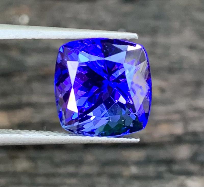 Top Grade 5.23 Cts Natural Tanzanite Gemstone nice color