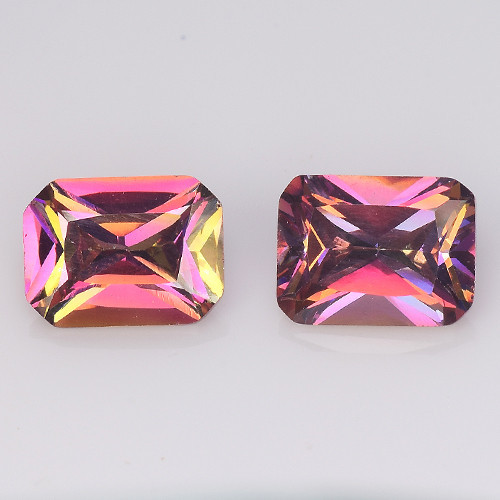 *NoReserve*Azotic Topaz 5.23 Cts Rare Fancy Multi Color Natural