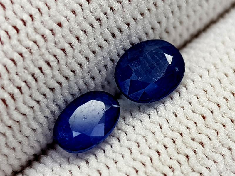 1.58CT BLUE SAPPHIRE HEAT BE BEST QUALITY GEMSTONE IIGC77