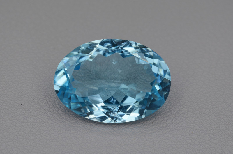 Natural Blue Topaz  12.79 Cts Top Quality