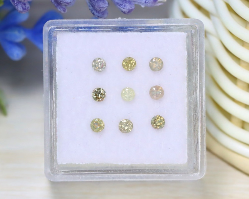 0.52Ct Natural Fancy Peach Yellow Diamond Untreated Genuine Lot C2521