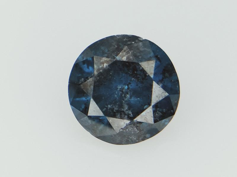 0.46 cts , Blue Salt and Pepper Diamond , Diamond For Jewelry