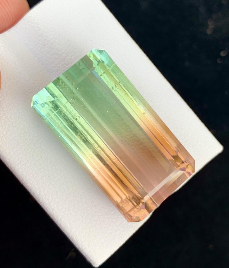 5000$ Top Grade 51.90 Carats Natural Bi color Tourmaline nice Luster
