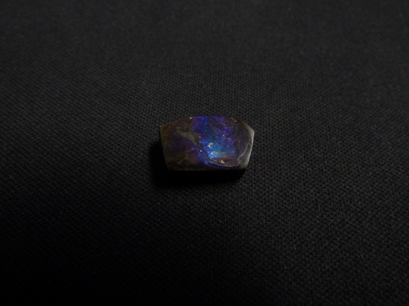 6.2 carats free form locally crafted stabilized ammolite cabochon Alberta