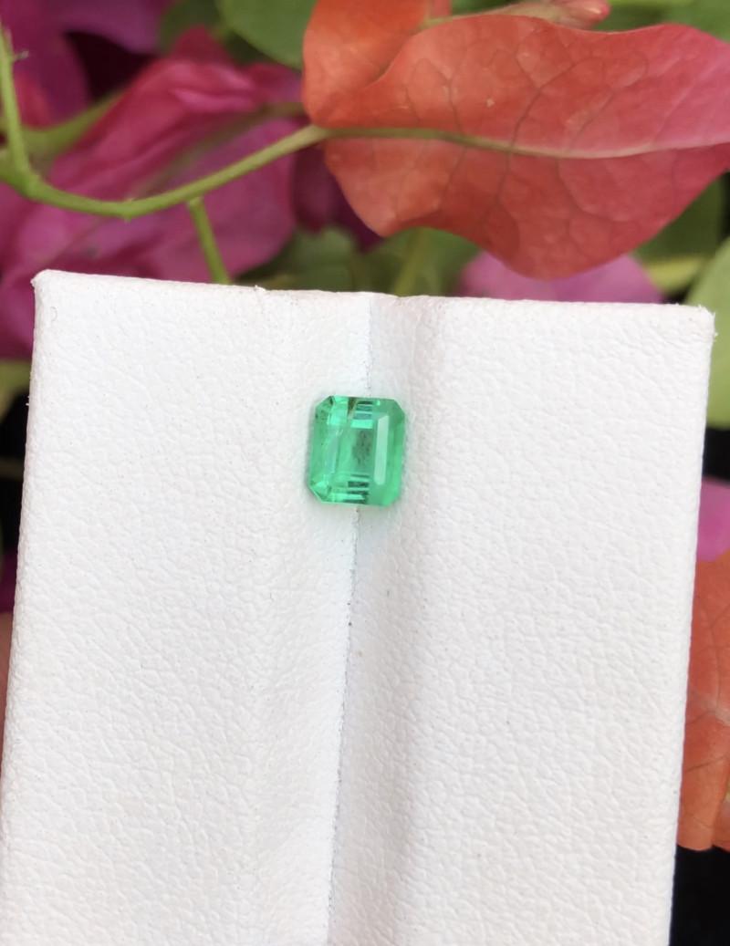 Top Grade 0.50 ct Panjsher Emerald Ring Size~RST