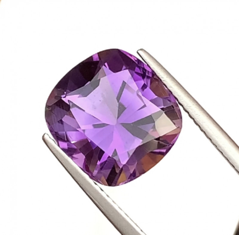 7.19 Carats Natural Amethyst Cut Stone from Africa