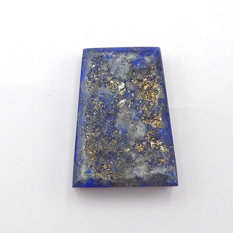 D2259 - 17cts Natural Lapis Lazuli With Nugget Surface Rough Cabochon