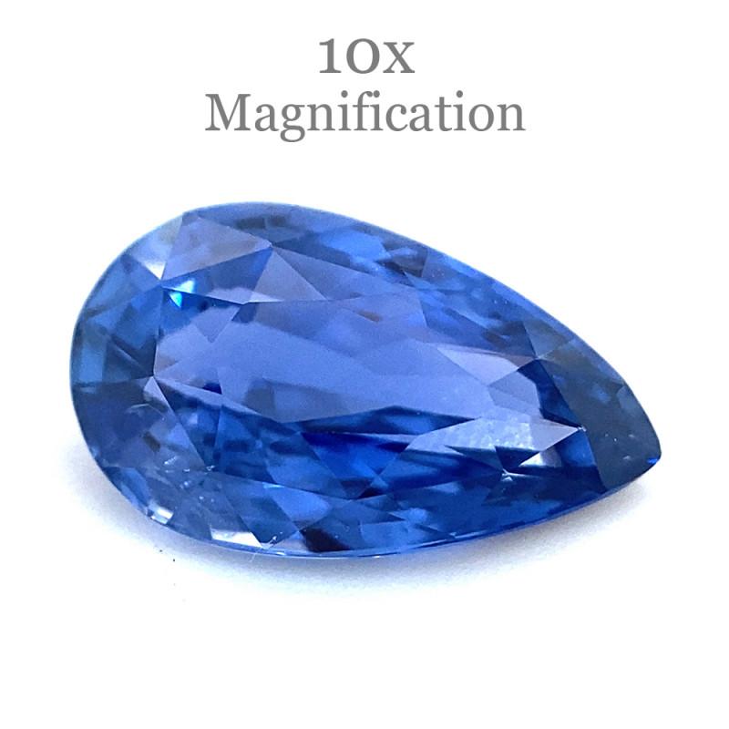 1.65ct Pear Blue Sapphire GIA Certified Sri Lanka