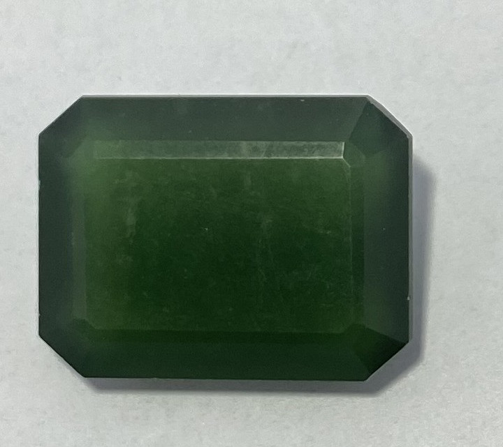 4.15 Cts Natural Serpentine faceted loose Gemstone 20