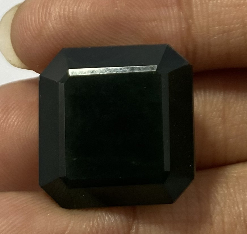 5.40 Cts Natural Serpentine faceted loose Gemstone 29