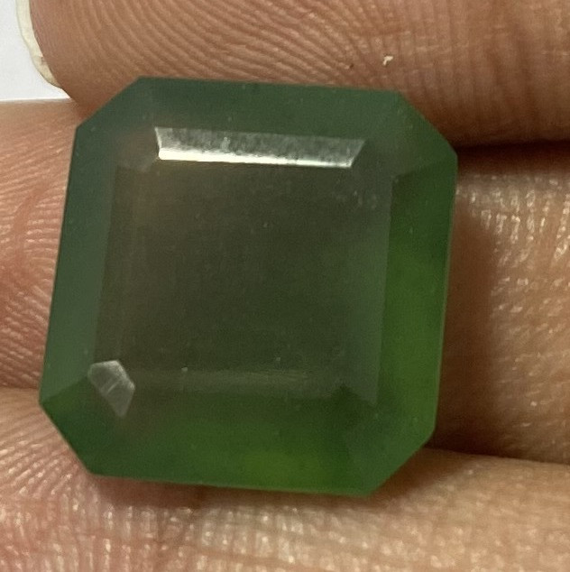 2.10 Cts Natural Serpentine faceted loose Gemstone 37