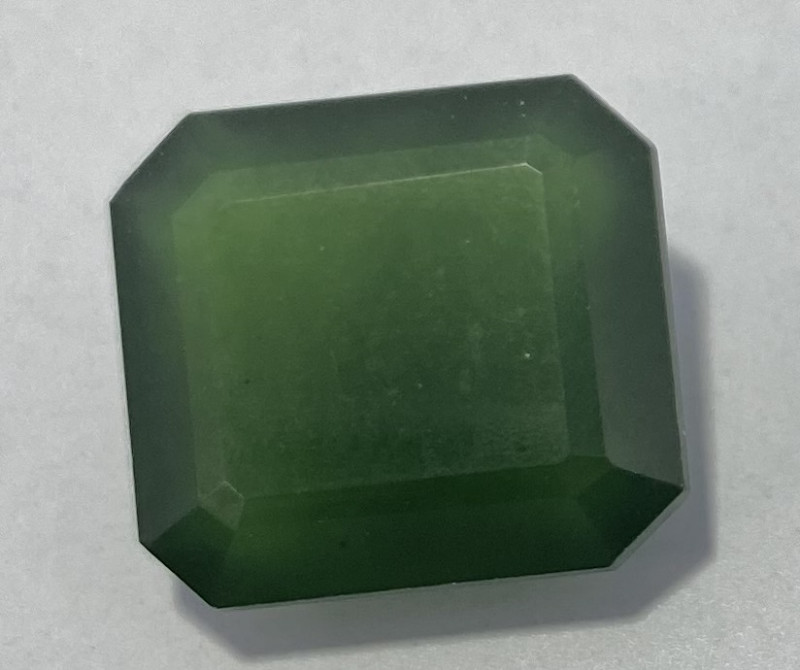 3.35 Cts Natural Serpentine faceted loose Gemstone 40
