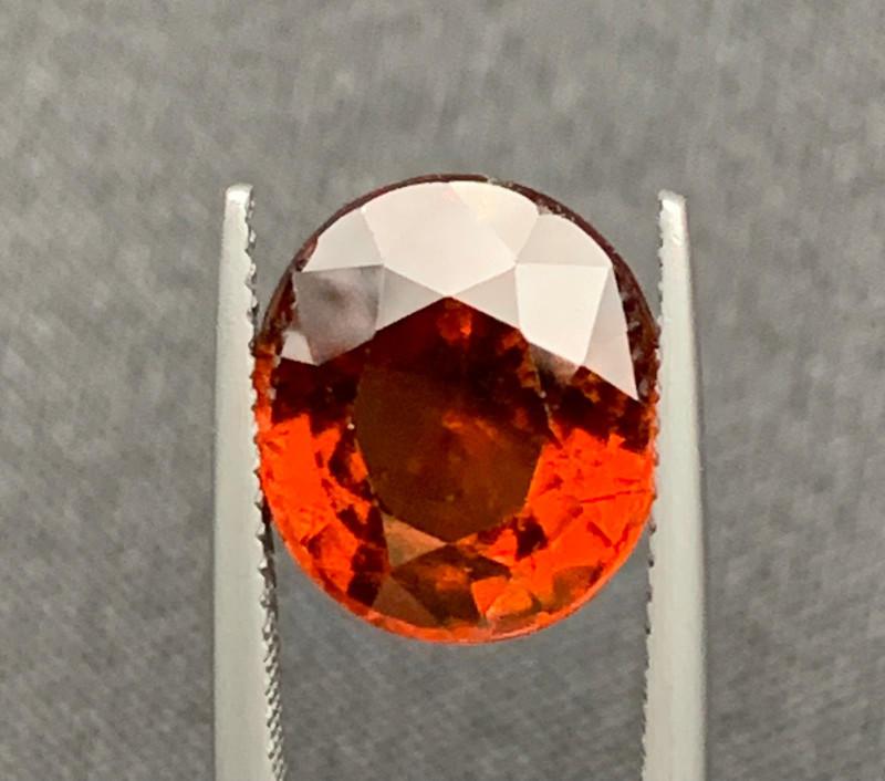 6.69cts Beautiful Hessonite Garnet