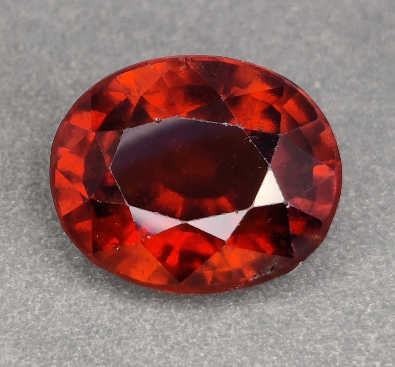 12.15 Cts Awesome 100% UNHEATED Natural Srilankan Hessonite Garnet!!