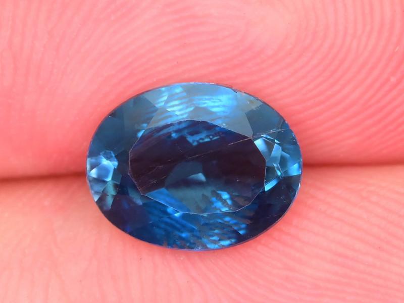 Ring Size Topaz 2.05  Ct Natural London Blue Topaz