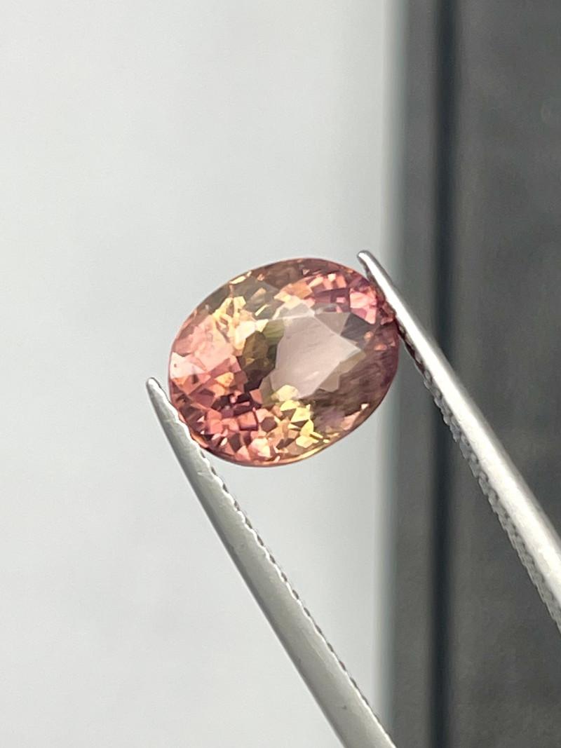 Natural Sunset Tourmaline 2.70 Cts Good Quality Gemstone