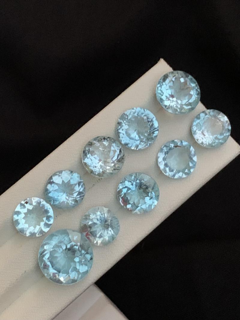 58.20 carats blue topaz Gemstones parcel