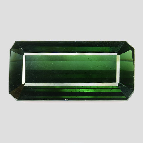 23.06Ct Green Tourmaline Sparkiling Luster Gemstone TRM
