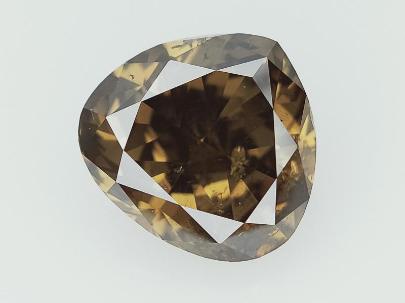 1.14 cts Fancy Colored Diamonds , Fancy Shaped Diamond