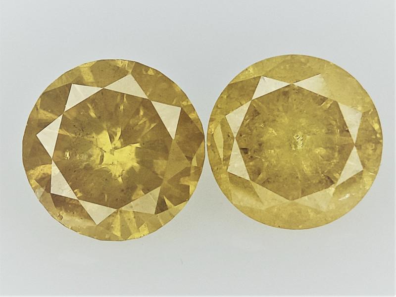 0.38cts , Round Brilliant Cut Diamonds