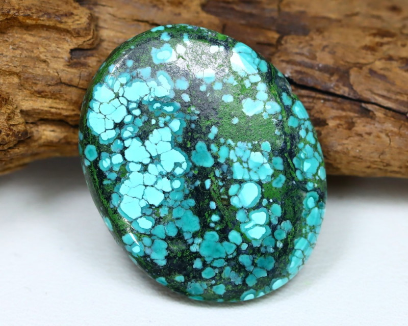 Turquoise 20.71Ct Natural Red Mountain Turquoise Cabochon ST727