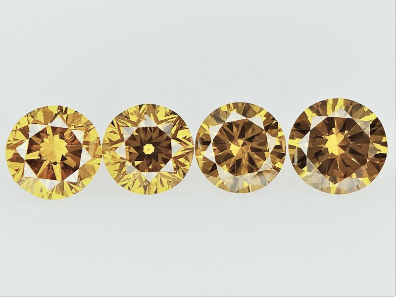 0.39cts , Round Brilliant Cut Diamonds
