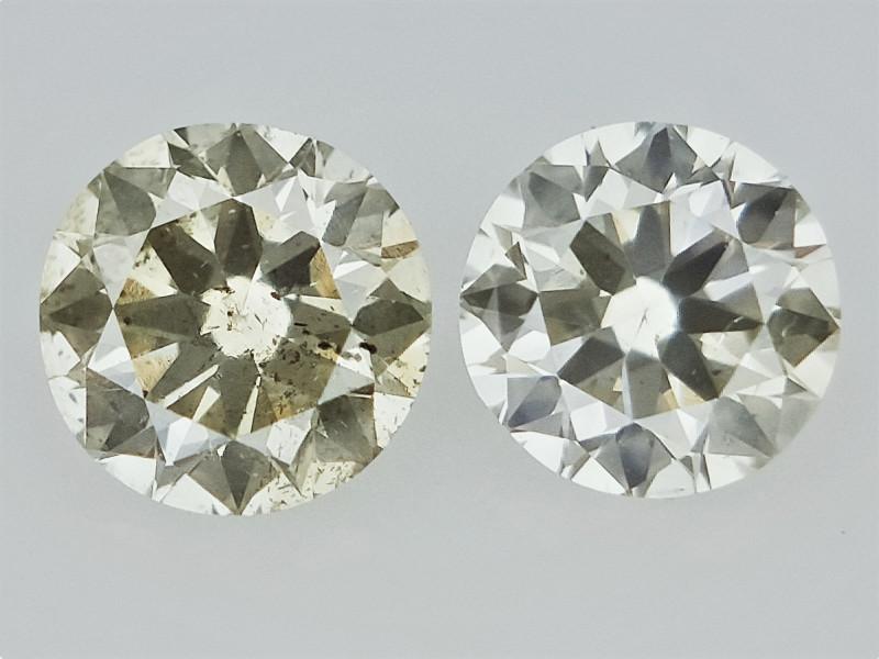 0.27cts , Round Brilliant Cut Diamonds