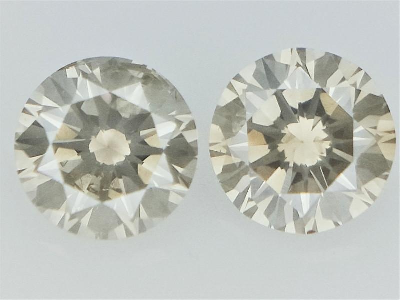 0.29cts , Round Brilliant Cut Diamonds
