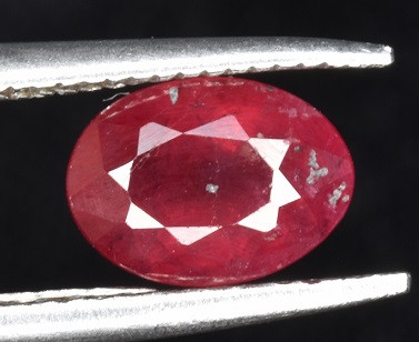 Natural Beautiful Red Ruby 1.00 CTS Gem