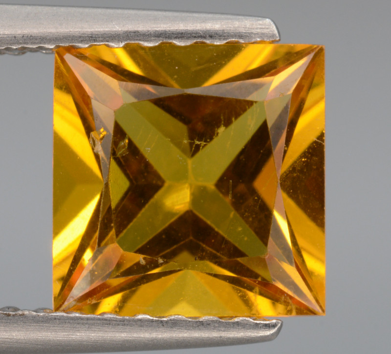 AAA Natural Heliodor 1.39  Cts, Top  Luster.