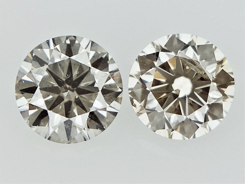 0.24cts , Round Brilliant Cut Diamonds