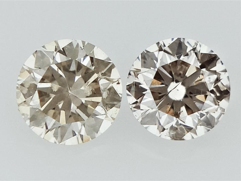 0.17cts , Round Brilliant Cut Diamonds