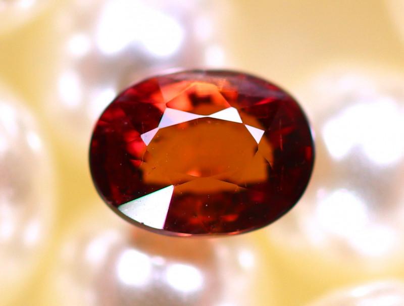 Tourmaline 1.24Ct Natural Pinkish Red Color Tourmaline D2406/B49