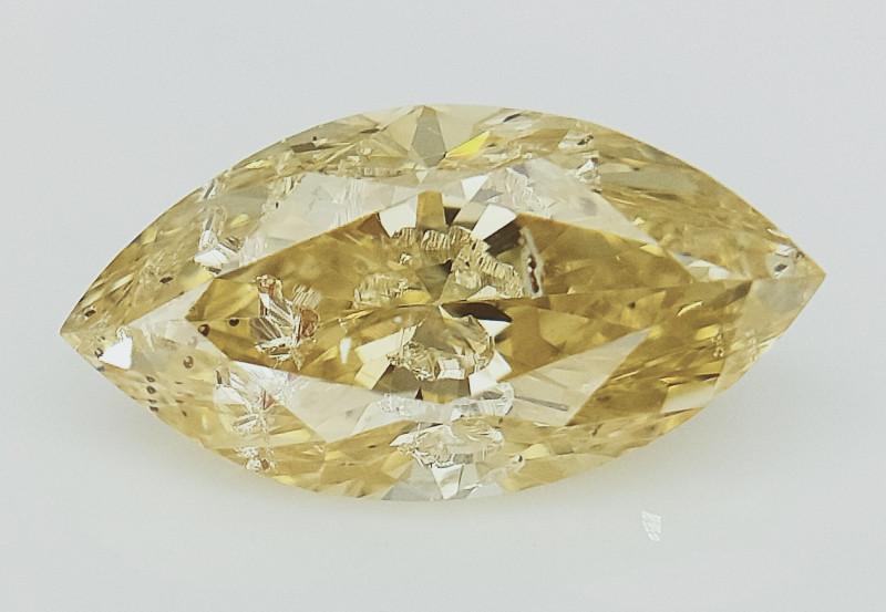 0.58cts , Fancy Colored Diamond , Fancy Shaped Diamond