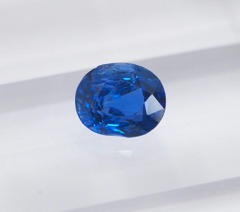 1.04ct unheated vivid blue sapphire
