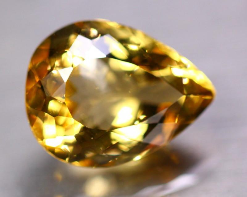 17.60ct Natural Yellow Citrine Pear Cut Lot GW9321