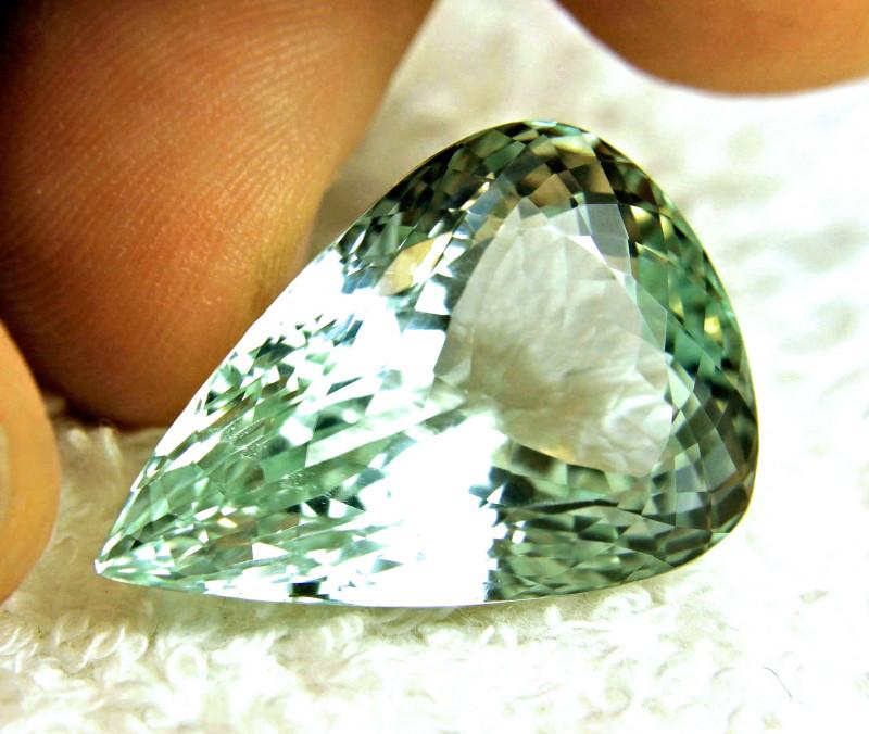 59.17 Carat VVS1 Himalayan Green Spodumene - Superb