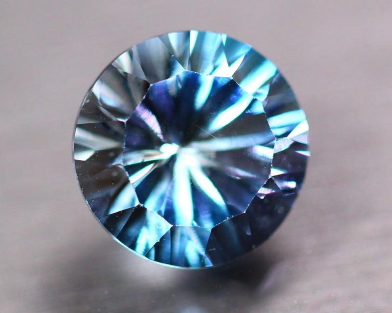 7.35Ct Natural Blue Topaz Round Laser Cut Lot Z133