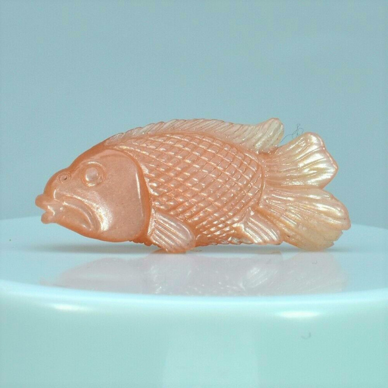 sunstone fish carving