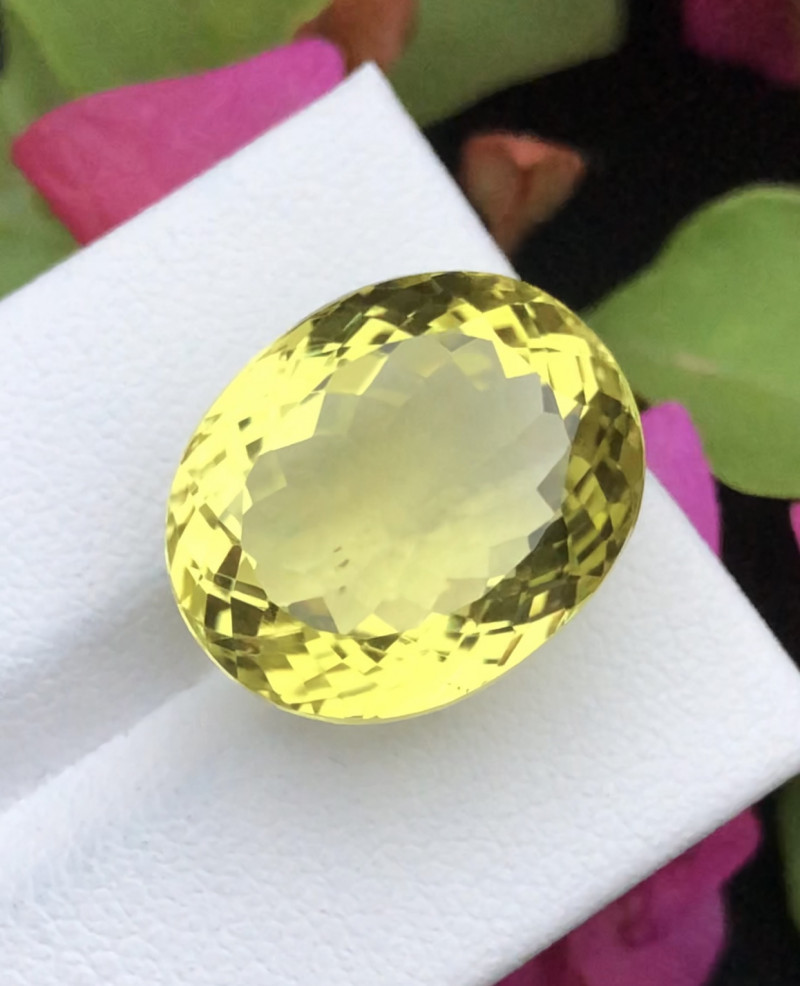 Top Grade 20.20 ct lovely Citrine Ring Size~RS