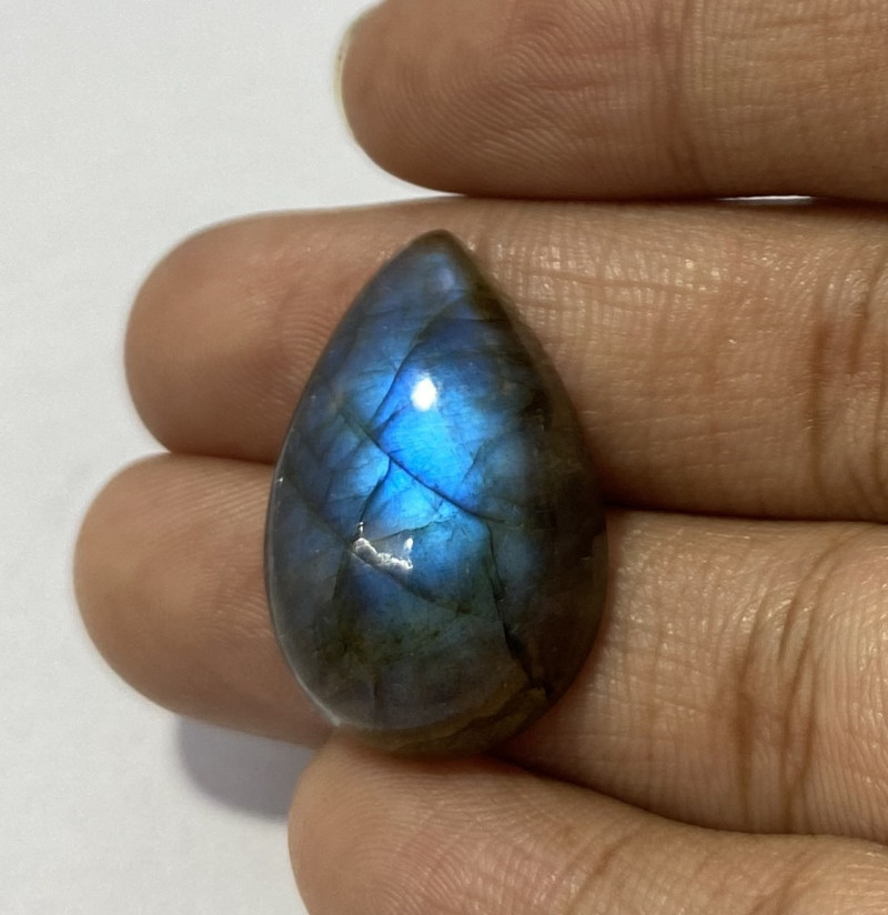 21.20 Cts Natural Labradorite loose Gemstone 80