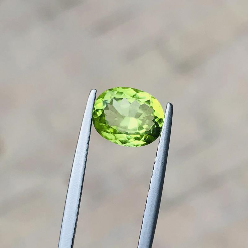 2.15 Carats Natural Peridot Cut Stone